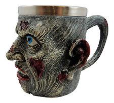 NEW! 3D Scary Zombie Beer Stein Tankard Wine Cup Mug Bones Halloween Gift ST86