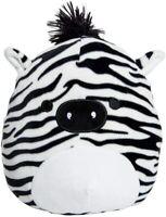 """Squishmallow Kellytoy Freddie The Zebra 8"""" Plush Doll Toy Pillow Pet"""