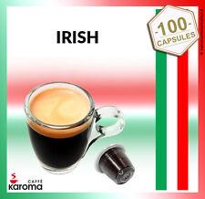 100 Karoma capsules Compatible Nespresso Machines ( Irish Cream)