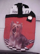 """Yorkshire terrier """" When is dinner """" cell phone case"""