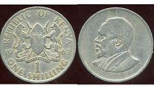 KENYA  1 shilling  1967