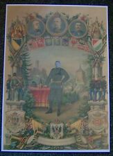 "AUSTRIAN - Large, Colour Printed Picture - ""To Remember my Service""."