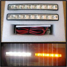 Coppia Luci Diurne LED DRL + Indicatori di Direzione Alfa Romeo 156 159 164 166