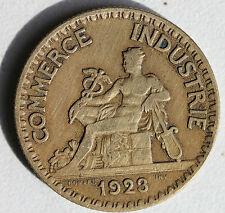 FRANCE - BON POUR 2 F - COMMERCE ET INDUSTRIE - 1923