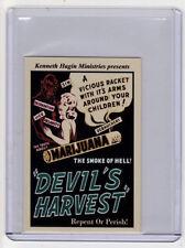 Devils Harvest marijuana movie ticket, Kenneth Hagin '51, Houston Columbia Litho