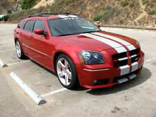 10 Plain Rally Stripes Stripe Graphics Fit All Yr Dodge Magnum Srt8 V6 V8 Hemi