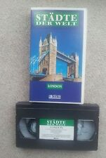 "LONDON VHS VIDEO TAPE ""Städte der Welt""  ORIGINAL !"