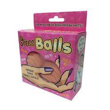 Testicle Shaped Stress Balls Reliever Prank Joke Fun Secret Santa Xmas Adult Toy