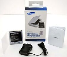 NEW GENUINE Samsung Galaxy S4 External WHITE Battery Charger Dock Micro-USB OEM