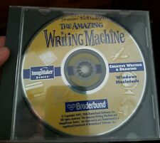 The Amazing Writing Machine (disc only) -  PC GAME- FREE POST
