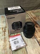 Canon EF-S 35mm F/2.8 STM IS Lens (Black) *READ*