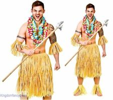 5 pièces ZOULOU GUERRIER paille hawaïen Tribal Ensemble de costume déguisements