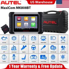 AUTEL MaxiCom MK808BT MK808 MX808 Wireless OBD2 Scanners Auto Fault Code Readers