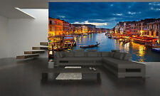 GRAND CANAL- VENICE CITY  Wall Mural Photo Wallpaper GIANT DECOR Paper Poster