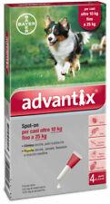 Advantix Spot-on Gocce Antiparassitarie per Cani  (-25) Kg