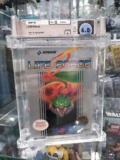 Life Force Konami Nintendo NES New Sealed WATA Graded 6.0 A Contra Black Seal