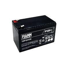 Fiamm 12FGH36 Batteria al piombo 12V 9Ah ad alta corrente di scarica