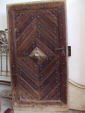Antike Mittelalterlichen Tür, 18-19 Jahrhundert, Nord Rumänien