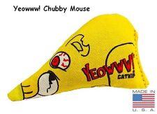 Yeowww! 100% Organic Catnip Toy, Chubby Mouse
