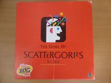 Scattergories english/france  (Kategorum) ! Ein Brettspiel von Hasbro