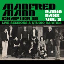 Manfred Mann Chapter Three Radio Days Vol. 3 - Live Sessions & Studi NEW 2 x CD