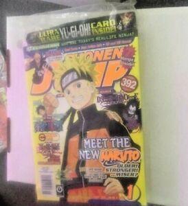 Shonen Jump MagazineJanuary 2008 with a YUGIOH card