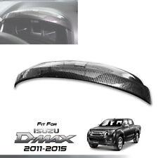 COVER DASH GUAGE CARBON KEVLAR METER RING TRIM FOR ISUZU D-MAX DMAX 2011-2015