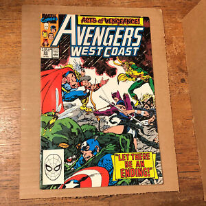Avengers West Coast #55 VF/NM
