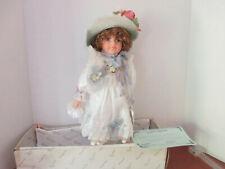 """Duck House Heirloom Dolls~Porcelain """"Adena"""" Doll with Coa"""