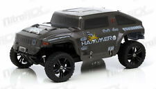 Iron Track Hummer Truck 1:10 Scale 4WD Electric Monster Truck Ready to Run (Red)