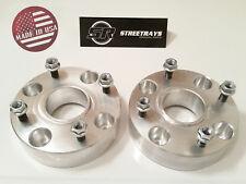 "[SR] 1.5"" Wheel Spacers PAIR Suzuki Yamaha ATV UTV 10x1.25 Studs 4/110 Flat Nuts"