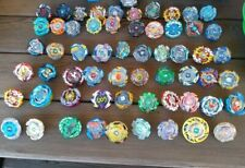 Beyblade HUGE MIXED Lot 59 Total Burst Metal, Other Japan Ripcords Launchers