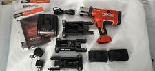 Ridgid RP210 Compact Battery Press Tool, New. Loaded Kit, 90 Day Warranty RP-210