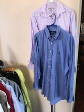 Ralph Lauren Micheal Kors Dress Shirt Size 16.5 34-35 Box O