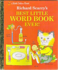 BEST LITTLE WORD BOOK EVER! Richard Scarry As New US hardback 1993 Collectable