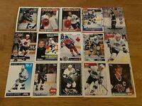 EE) Lot of 60 Different WAYNE GRETZKY Hockey Cards TOPPS SCORE KINGS HOF++