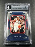 LEBRON JAMES 2004 SP GAME USED #153 SEASON IN REVIEW /999 BGS 9.5 9 9 9 SUBS