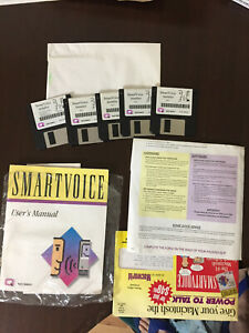 Apple Macintosh Smartvoice Program, User Manual and Paperwork