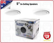 """In-Ceiling Speakers In-Wall Speakers 5"""" Home Theatre, Caravan Campervan 5RIC5"""