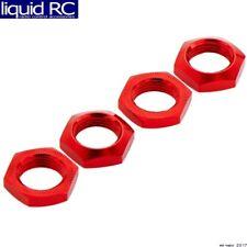 Arrma AR330360 Aluminum Wheels Nut 17mm Red Nero (4)