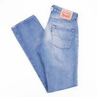 Vintage LEVI'S 501 Regular Straight Fit Men's Blue Jeans W29 L32