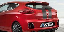 Kia Pro_Cee'd GT Bonnet & Tailgate Racing Stripes - Black (A2200ADE00GTBL)