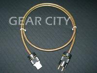 cpe5e 1.5m 5ft 10mm EU Mains Power OFC Cable Shield Cord Schuko IEC Plug HiFi