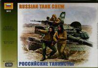 ZVEZDA 1/35 Moderne Russe équipage de TANK #3615