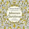 Johanna's Christmas: A Festive Colouring Book by Johanna Basford (Paperback,...