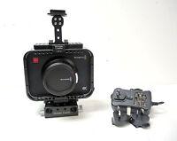 Blackmagic Design Production Camera 4K (EF Mount) - Black Wooden Camera kit USED