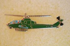 US USA AH-1G Cobra Helicopter Military Hat Lapel Pin