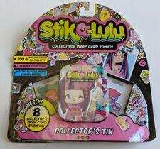 NEW Series #1 Stika-Lulu Kioko 8 pack collectors swap card stickers tin unopened