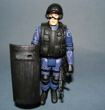 "1:18 Intoyz SWAT Team Police Shield Law Enforcement Figure 4"" fit BBI Dragon"