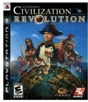Sid Meier's Civilization Revolution PlayStation 3 PS3 Kids Game Strategy History